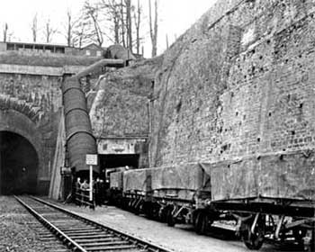 Report Box Tunnel East Portal Sidings To Tunnel