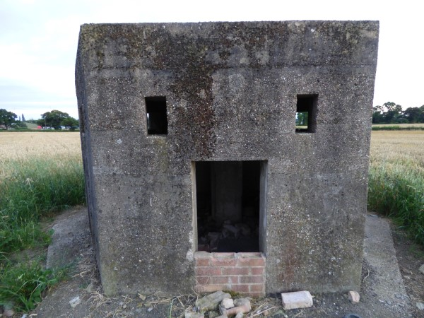 Report Wollaton Pillbox Nottingham July 2016