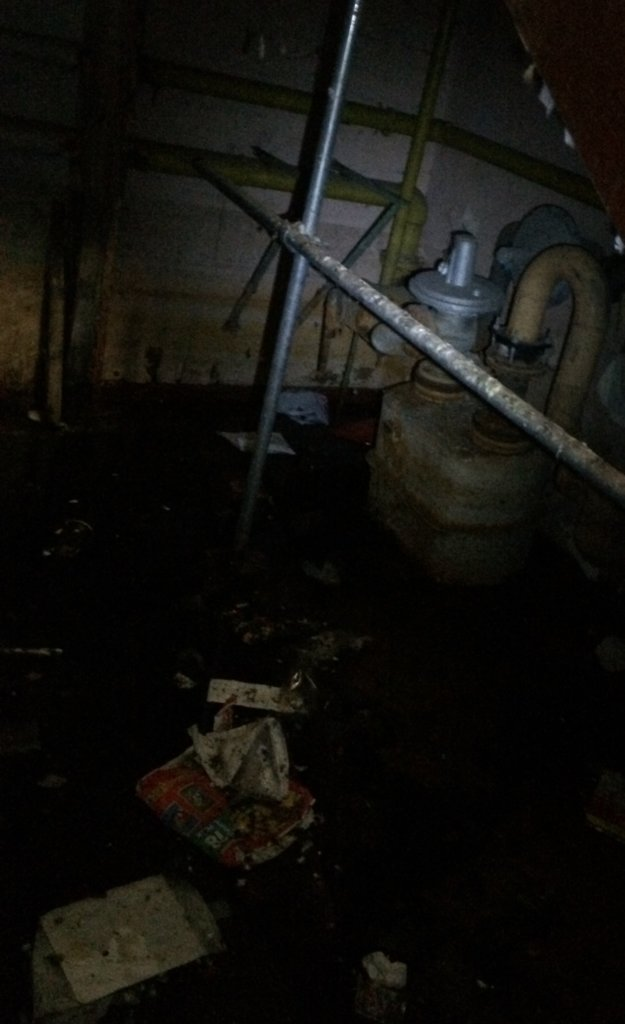Flooded basement Equipment.JPG